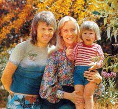 Agnetha, Björn and Linda <3