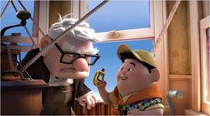 Day Your favorite hero: the cutest couple of gangstas i know. the elderly Carl and the hip Russel. Also I am part Russel, cause I'm a girl scout / wilderness explorer Up Pixar, Pixar Movies, Disney Movies, Cartoon Movies, Up The Movie, Movie Tv, Series Movies, Movies And Tv Shows, Tv Series