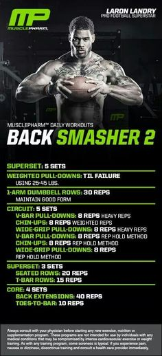 MusclePharm Back smasher 2