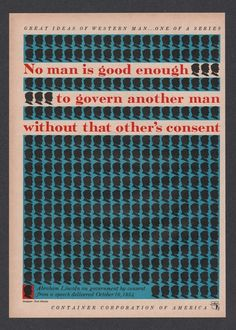 1957 Abraham Lincoln quote Noel Martin art