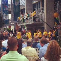 USC INTSAGRAM | Flash mob after the ribbon cutting! #usfsp #usfspusc