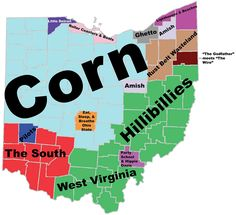 Stereotypical/hilarious/offensive maps are all the rage these days...