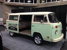 Really fun idea. A VW photo booth van!