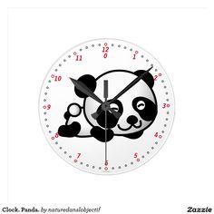 Clock. Panda.