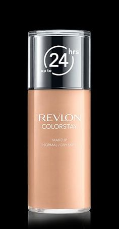 Revlon® ColorStay™ Makeup  for Normal/Dry Skin. LONGWEARING COVERAGE FOR NORMAL TO DRY SKIN. My Shade: TRUE BEIGE.