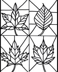 Make it easy crafts: Kid's Craft- stained glass leaves free printable crafts for kids for teens to make ideas crafts crafts Autumn Crafts, Fall Crafts For Kids, Kids Crafts, Art For Kids, Arts And Crafts, Kids Diy, Decor Crafts, Art Project For Kids, Autumn Art Ideas For Kids