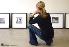 The toughest part of this project was to decide the order in which to hang each frame.