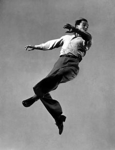Gene Kelly dances to great heights, 1944.  (Gjon Mili—The LIFE Picture Collection/Getty Images)