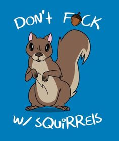 Rick and Morty x 'Don't Fuck w/Squirrels'