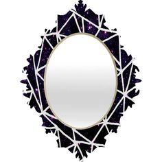 Fimbis Nostromo Rear Window Baroque Mirror #geometric