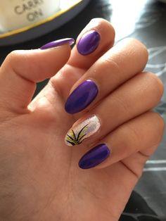 Fall nails✨ Acrylic nails almond shape D.I.Y