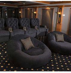 Unique Home theater Carpet Ideas