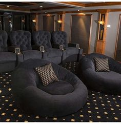 salle de cinéma maison de luxe - Recherche Google | Home Cinema ...