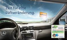 Sorgen Sie für gute und gesunde Luft im Fahrzeug: Die Service-Besten 1 pflegen regelmäßig Ihre Klimaanlage.    Die regelmäßige Reinigung der Klimaanlage schafft ein hygienisches Raumklima.    Jetzt bei uns bis zum 31.05 für nur 79.-Euro.   Siehe alle Infos dazu unter http://www.swmb.de/news/teile/mercedes-benz-original-klimaanlagenreinigung/