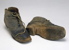 Shoes from the Battle of Gettysburg