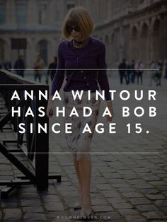 Anna Wintour Facts