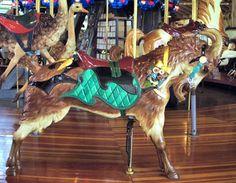 Richland Carrousel Park Carrousel  Carousel Works Goat