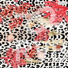 DP0678 | Arte Fundo do Mar | RVB Prints | Estamparia Digital | FITNESS