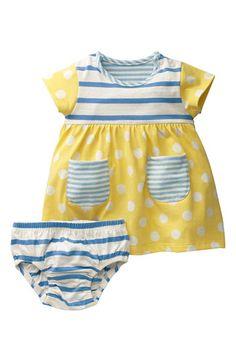 Mini Boden 'Hotchpotch' Jersey Dress (Infant) | Nordstrom