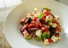 Solterito, peruvian chopped salad