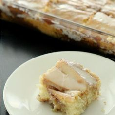 Cinnamon Roll Cake- I made this Sunday Morning . .  delicious!!