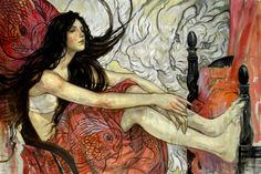 Rebecca Guay - Classically inspired beauty