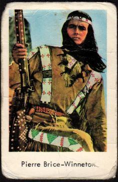 1965 VINTAGE SWEDISH MOVIE/POP STAR SET GUM CARD PIERRE BRICE - WINNETOU   Collectibles, Non-Sport Trading Cards, Vintage Non-Sport Cards   eBay!