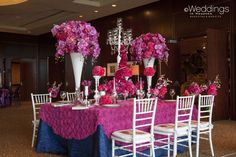 Pink, Purple, and Red Wedding Tabescapes by Flora & Eventi Red Wedding, Wedding Blog, Rose Shop, Wedding Decorations, Table Decorations, Pink Purple, Houston, Flora, Future