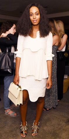 Look of the Day - December 5, 2014 - Solange Knowles in Tata Naka from #InStyle