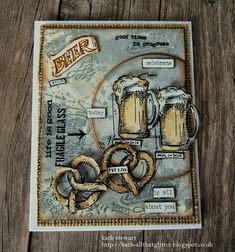 Kath's Blog......diary of the everyday life of a crafter: Stampers Anonymous Mini Blueprints 10 - Let's Have A Beer