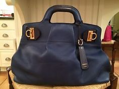 Salvatore Ferragmo Gorgeous Leather Handbag