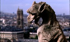 What do you see when you look up to the top of the great cathedral of Notre Dame? You see monsters, half-man and half-beast. These demon looking creatures carved out of stone are called gargoyles. They are one of the many eerie stone figures that adorn the gutters of the Cathedral of Notre Dame in…