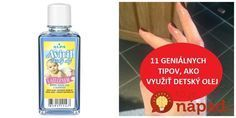 Tento olej by ste nemali pustiť z ruky ani dnes! Nordic Interior, Gardening Tips, Health Fitness, Personal Care, Good Things, Cleaning, Homemade, Makeup, Beauty