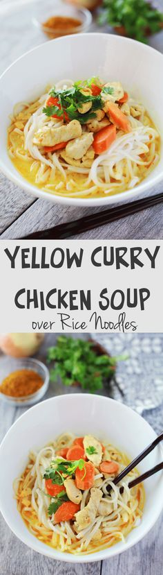 This was so fast and easy to make and my family gobbled it down in seconds! My hubby keeps asking me to make it again and so do my kids! Amazing Thais Yellow curry chicken soup recipe!!!