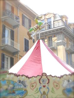 immagini giostre #carousel #pastel #italy #travel