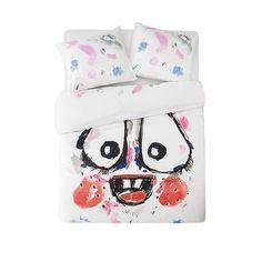 Fashion designer Bas Kosters designed this Happy Joy bedding