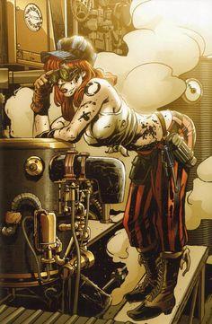grease monkey   Steampunk   Dieselpunk