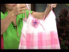Alta Costura para NIÑOS clase # 49 cortar el vestido para bebe - YouTube