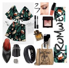 """Untitled #31"" by rdanaes ❤ liked on Polyvore featuring 3.1 Phillip Lim, Lancôme, Laura Mercier, Burberry, Topshop, Swarovski, Christian Dior and Moschino"
