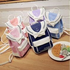 """- Material: made of canvas - Color: Pink/Blue/Navy/Hot Pink/Purple - Size Reference: - Height: 28cm/11.02"""" - Length: 19cm/7.48"""" - Thickness: 9cm/3.54"""" - Shipping: Free Shipping Worldwide for order over 15$, 7-15 days delivery to US/UK/CA/AU/FR/DE/IT and most Asia Countries"""
