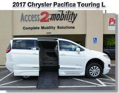 Tyler, Texas: www.access2mobility.com/vans Access 2 Mobility has several wheelchair accessible vehicles, including this white 2017 Chrysler Pacifica, wheelchair accessible van. #wheelchair #accessible #van #Braun #Pacifica Tyler Texas, Chrysler Pacifica, Driving Test, Vans, Wheelchairs, Vehicles, Awesome, Check, Van