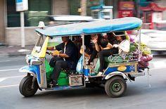 Tuk Tuk ride in Thailand