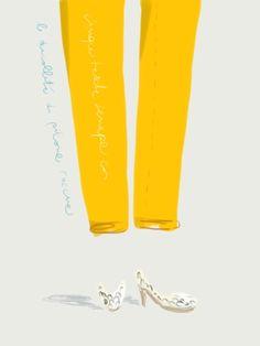 Colore: cinque tasche senape + décolleté di pitone color roccia.  http://opentoe.posterous.com/ispirazione-anni-50