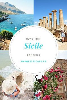 Road trip in Sicily: itinerary budget what to see getting around the island Destinations D'europe, Places To Travel, Places To Go, Glamping, Road Trip Europe, Reisen In Europa, Voyage Europe, Destination Voyage, Roadtrip
