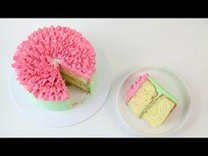 Pink Petal Buttercream WEDDING CAKE! - CAKE STYLE - YouTube