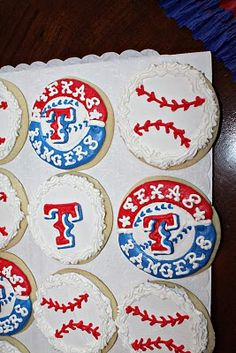 A Texas Rangers baseball themed party! The blog has several posts with lots of pictures for ideas!