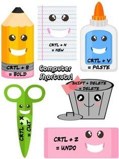 Super Cute Computer Shortcuts!!! :)