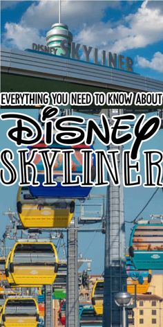 The Disney Skyliner is the newest transportation system at Disney World. Get all the details on how to ride the gondola system on your trip. Disney World Resorts, Walt Disney World, Disney Tips, Parenting Hacks, Evergreen, Need To Know, Saving Money, Transportation, Busses