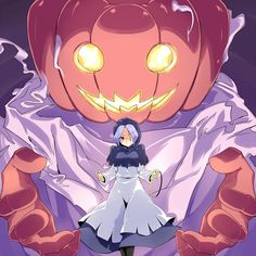 Touhou Project artwork by iyuu Anime Halloween, Halloween Scene, Halloween Art, Happy Halloween, Girl Iphone Wallpaper, Manga Pictures, Cartoon Pics, Manga Art