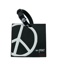 Peaceloveworld See More I Am Peace Black Lug E Tag I Had To Get This To Go With My